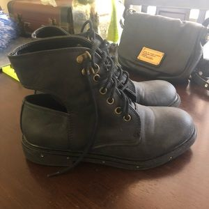 Forever 21 Combat Boot